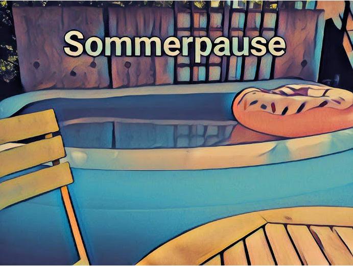 Sommer, Sonne, Ferien!